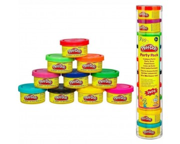 PLAY-DOH ΠΑΡΤΥ ΜΙΝΙ ΒΑΖΑΚΙΑ  10 ΤΕΜ