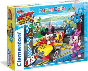 Mickey and the Roadster Racers Maxi Super Color 24 ΚΟΜΜΑΤΙΑ