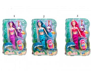 Snainter Κούκλα Fashion Γοργόνα Με Αξεσουάρ 29.109 FD