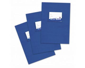 Τετράδιο μπλε GENIUS 17x25 30Φ ριγέ