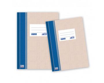 Ευρετήριο φυλλάδα με πλαστικοποιημένο χοντρό χαρτόνι & ετικέτα, βιβλιοδετημένη 17x25 150Φ