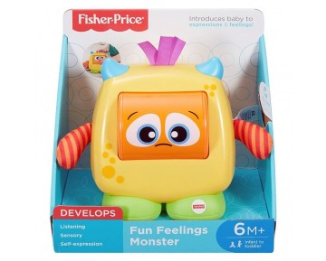 FISHER PRICE ΖΩΑΚΙ ΣΥΝΑΙΣΘΗΜΑΤΩΝ DRG13