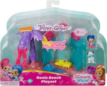 Fisher Price Shimmer & Shine Teenie Genies Playset DTK56